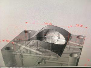 CAD data - tvárník