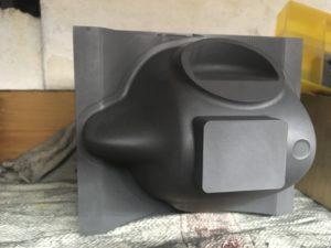 Elektroda základního tvaru respirátoru